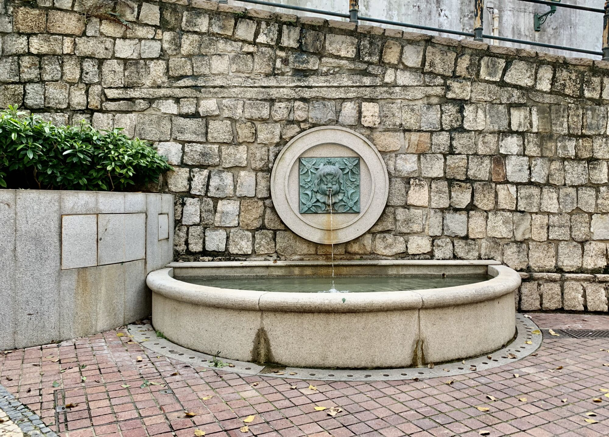 Lilau Square Fountain From Front Detail Macau Lifestyle
