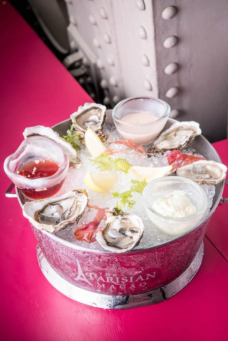 Parisian Gourmet Festival 2019 fresh oysters