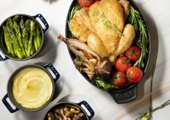 The Ritz-Carlton Cafe – Mother's Day – Roasted French Poussin with Aromatic Garlic and Herbs