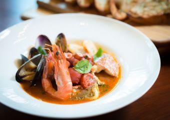 The Venetian Macao Portofino Italian restaurant Seafood Risotto