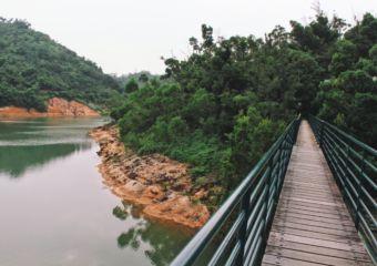 Ka-ho reservoir lakeside walk coloane trails