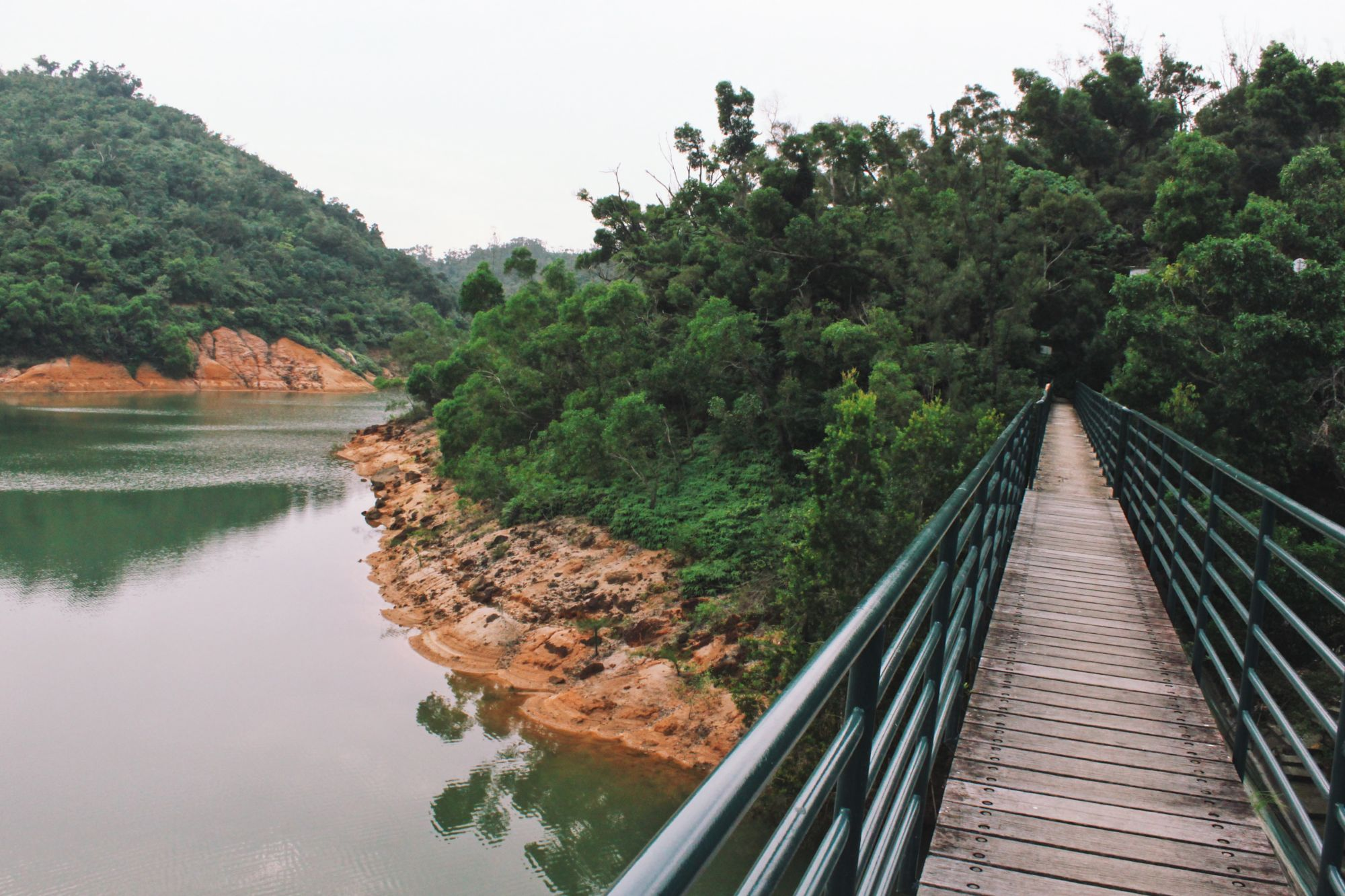 Ka-ho reservoir lakeside walk coloane trails family events macau october