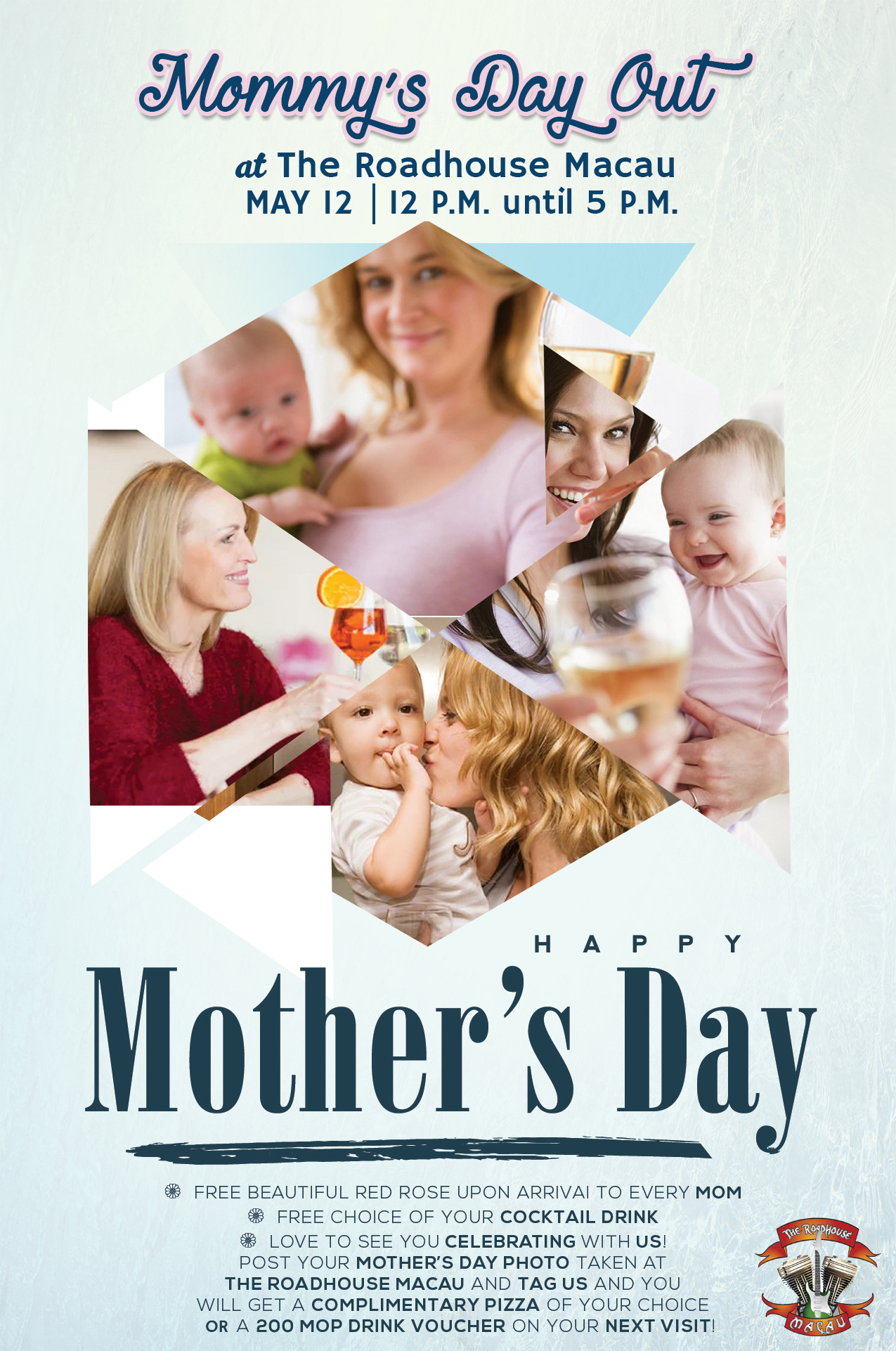 weekend events mothers day the roadhouse macau