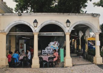 nga tim cafe coloane village