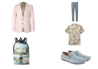 men's fashion pastel