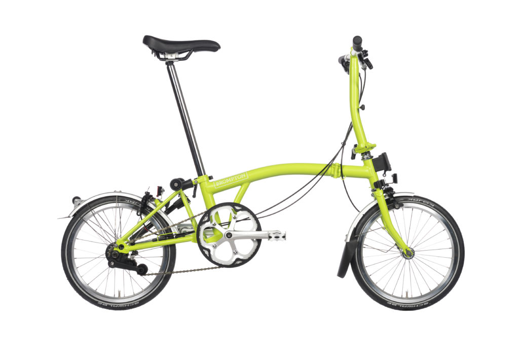 Father's Day gift Brompton Lime Green