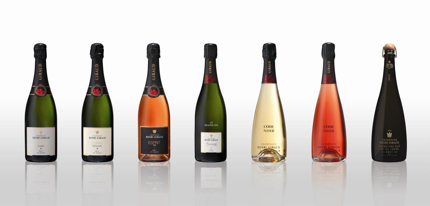 Champagne Henri Giraud champagne range