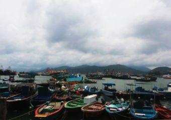 Cheung Chau Island boats