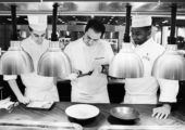 Four Seasons Caprice Guillaume Galliot Kitchen photo- B&W