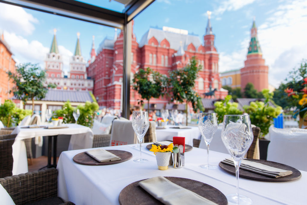 Four Seasons Hotel Moscow 2 Terrace