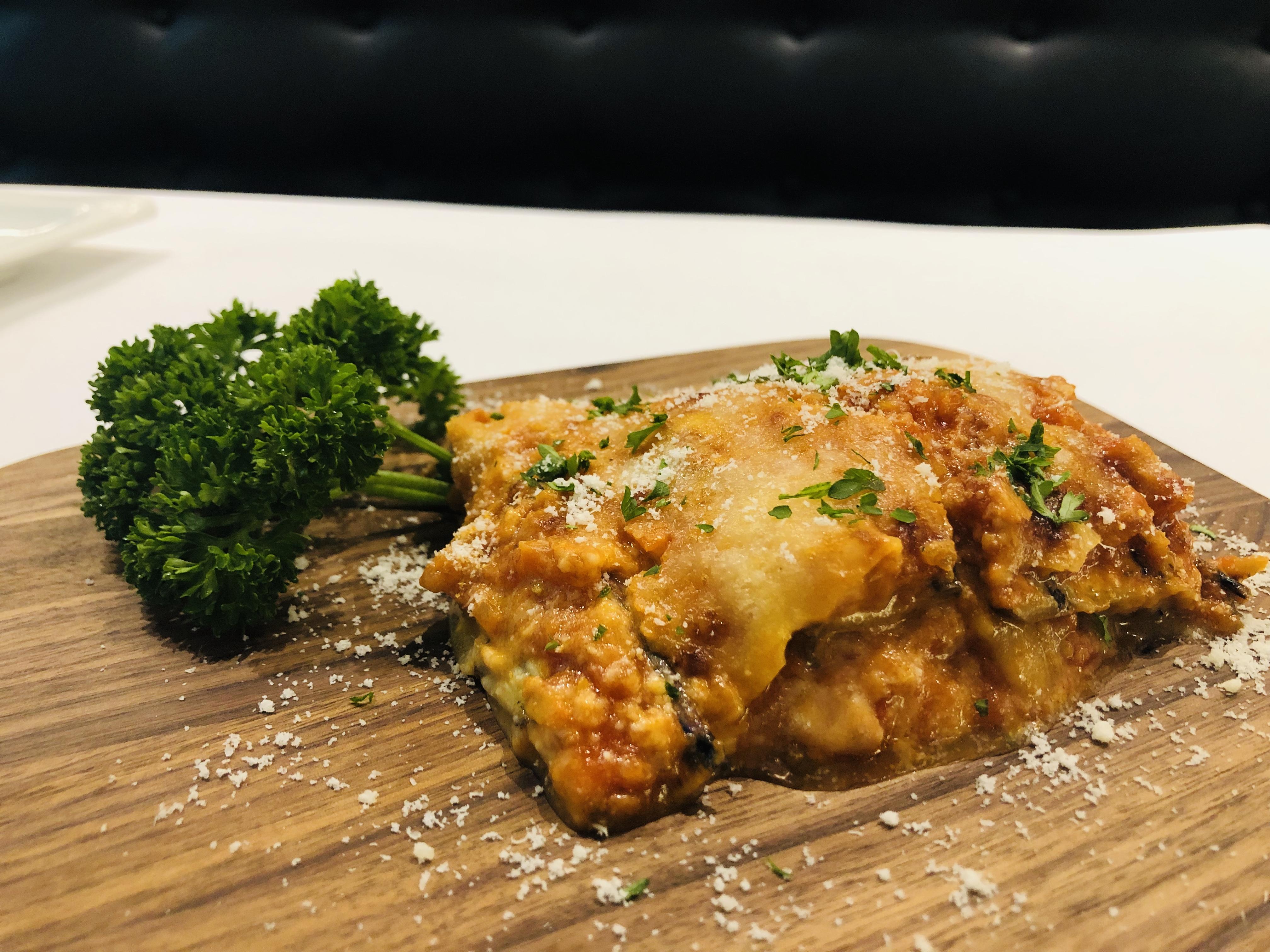 Healthy Vegetarian Parmigiana (Lasagna)
