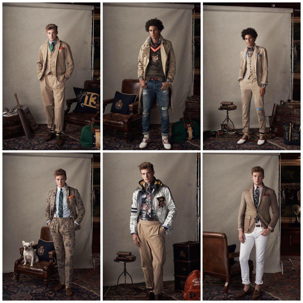 Ralph Lauren Men's Fashion Beige