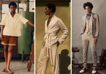 Men's Fashion Beige