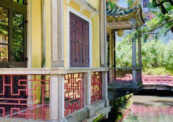 Lou Lim Ieoc Garden House Balcony Detail