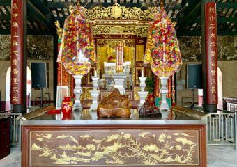 Kun Iam Temple Altar Detail