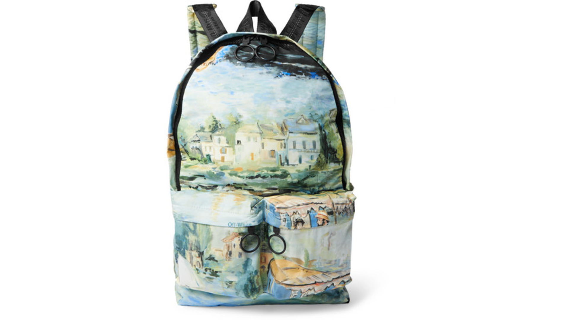 off white pastel backpack