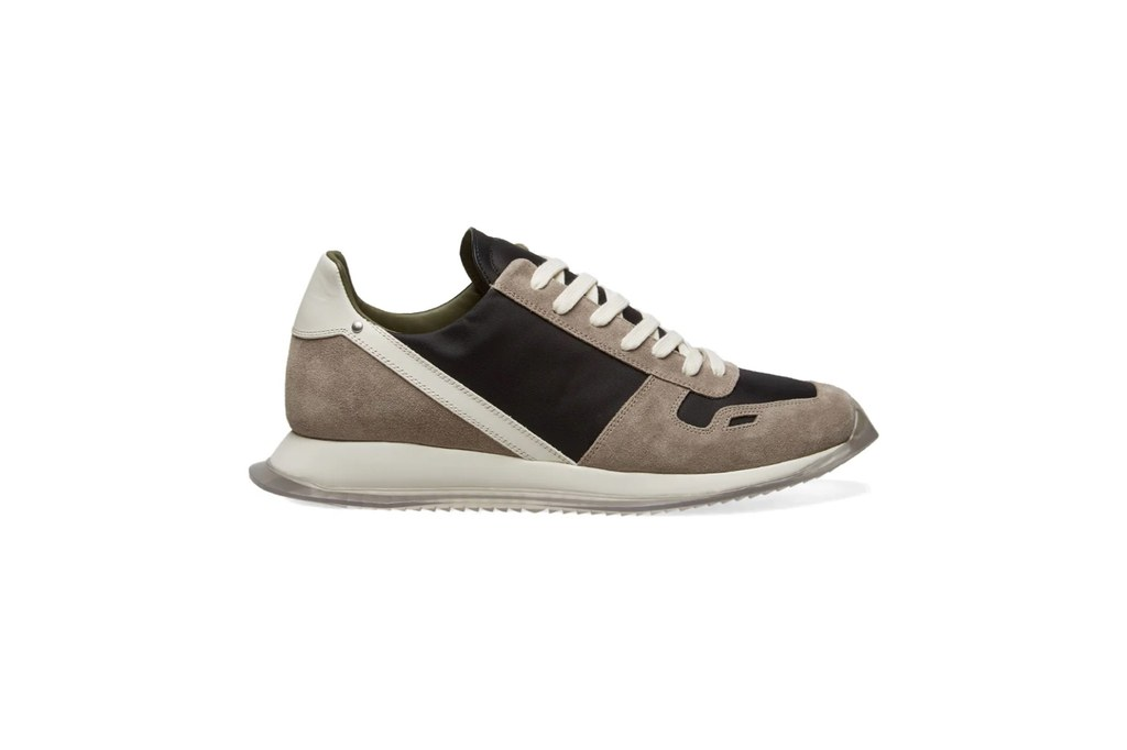 Rick-Owens-New-Vintage-Lace-Up-Runner Fashion Running Shoe