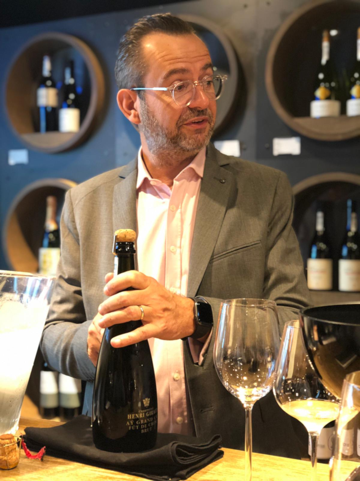 Stephane, Sales Director of Henri Giraud House