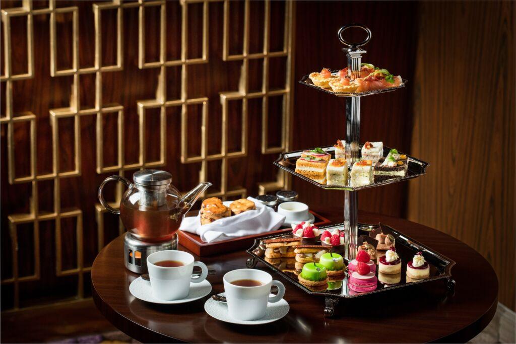 The St. Regis Bar – Afternoon tea set