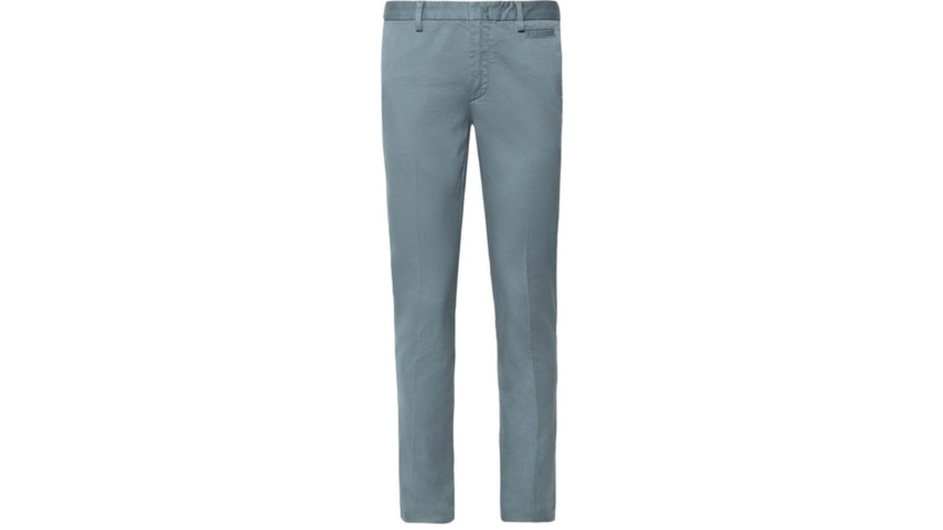 pastel blue prada pants