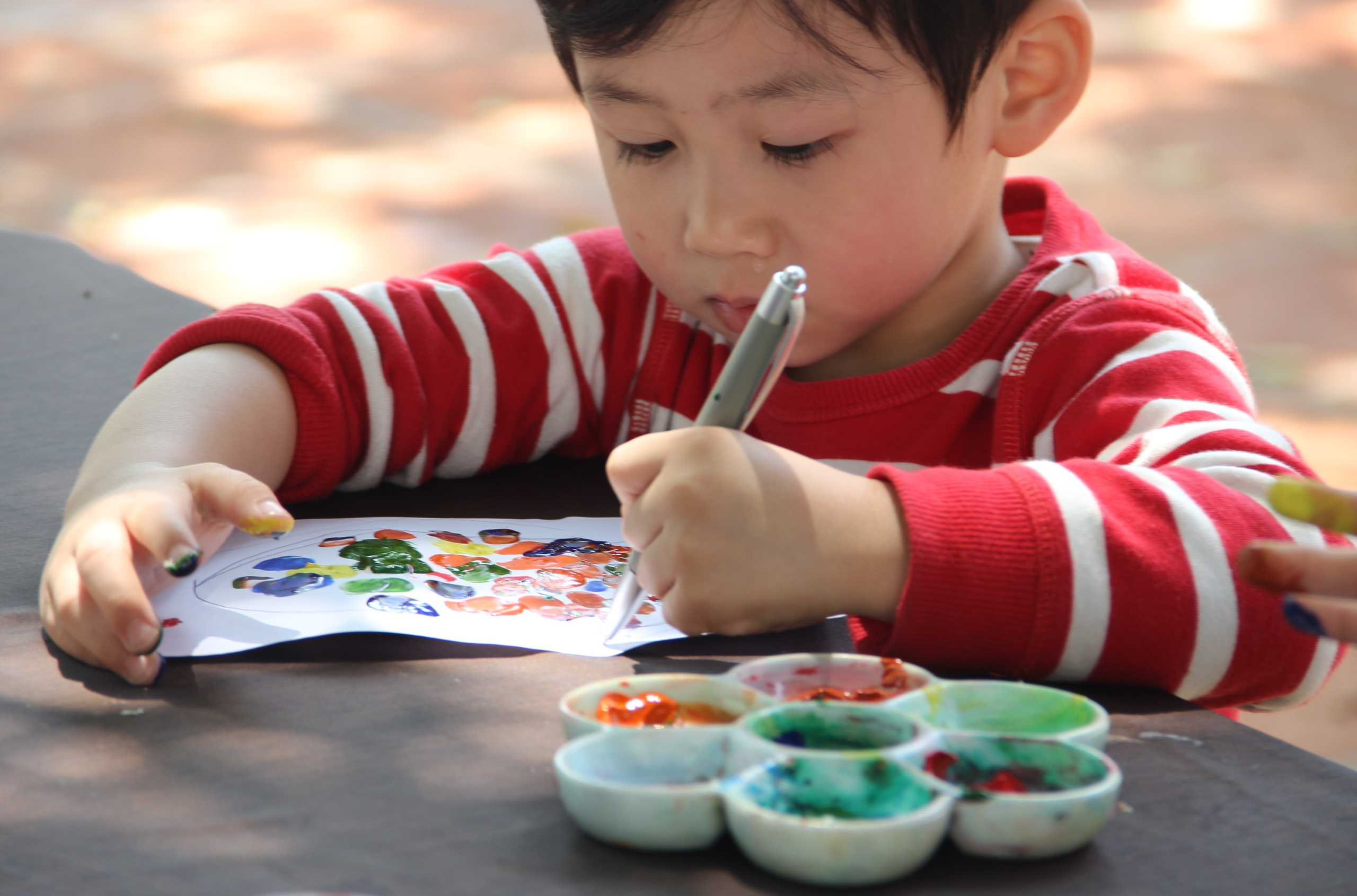 Painting Class at Grand Lapa family events Macau august