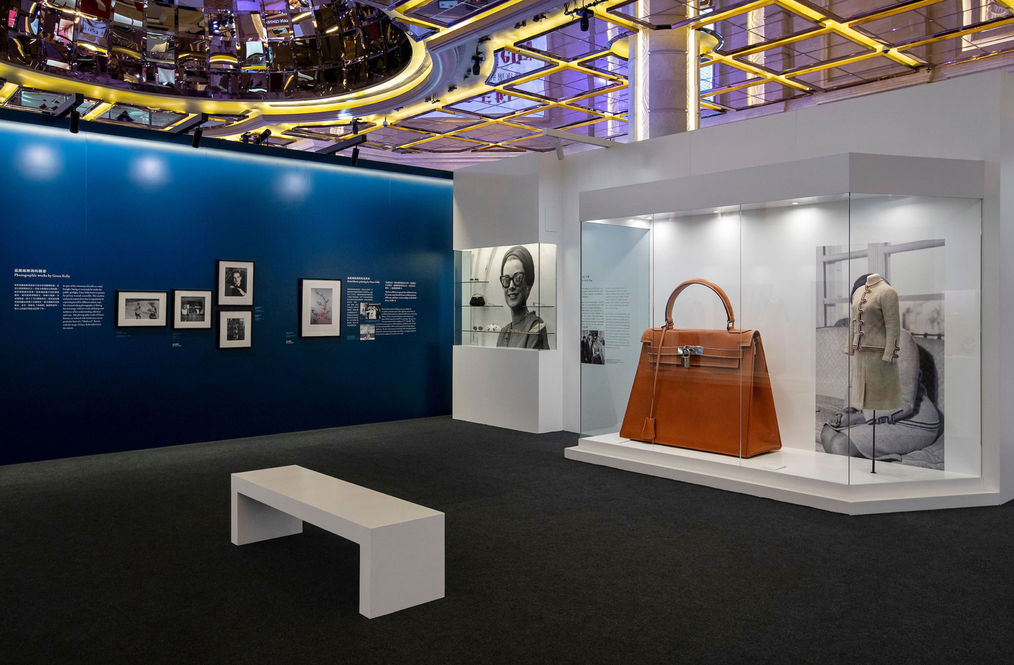 Grace Kelly exhibition galaxy macau from hollywood to monaco