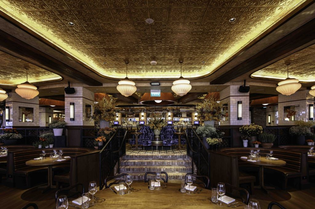 LAVO restaurant main dining room