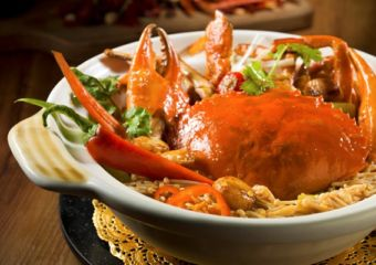 North The Venetian Macao crab dish