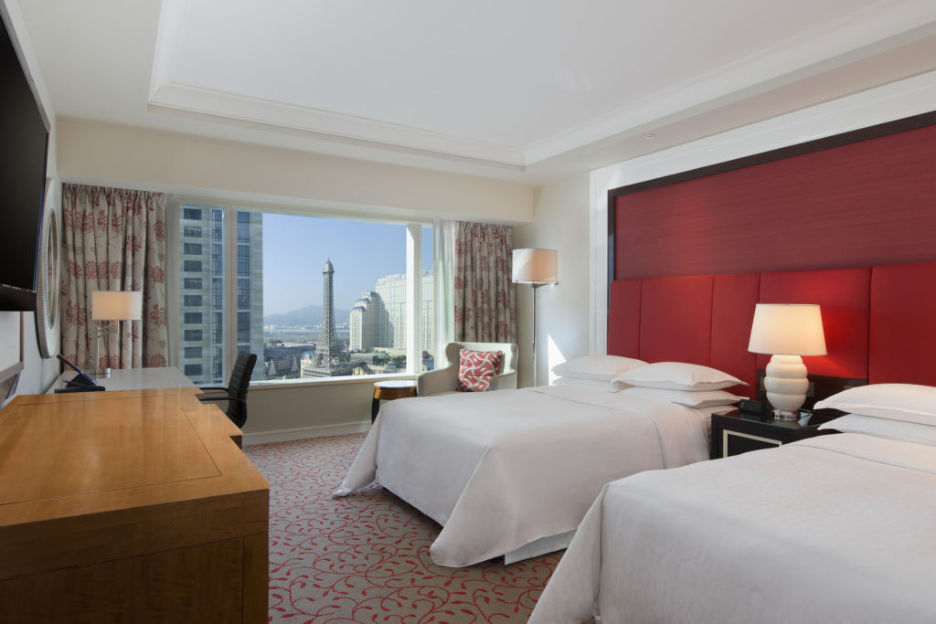 Sheraton Grand Macao Hotel Deluxe Twin Room