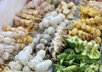 Street Food Frozen Skewers Macau Lifestyle