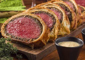 vida rica restaurant beef wellington