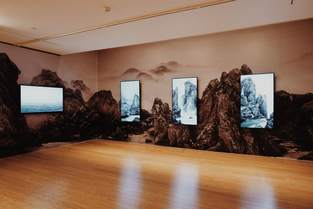 Yang Yongliang International Art Exhibition Art Macao MAM macau museum of art