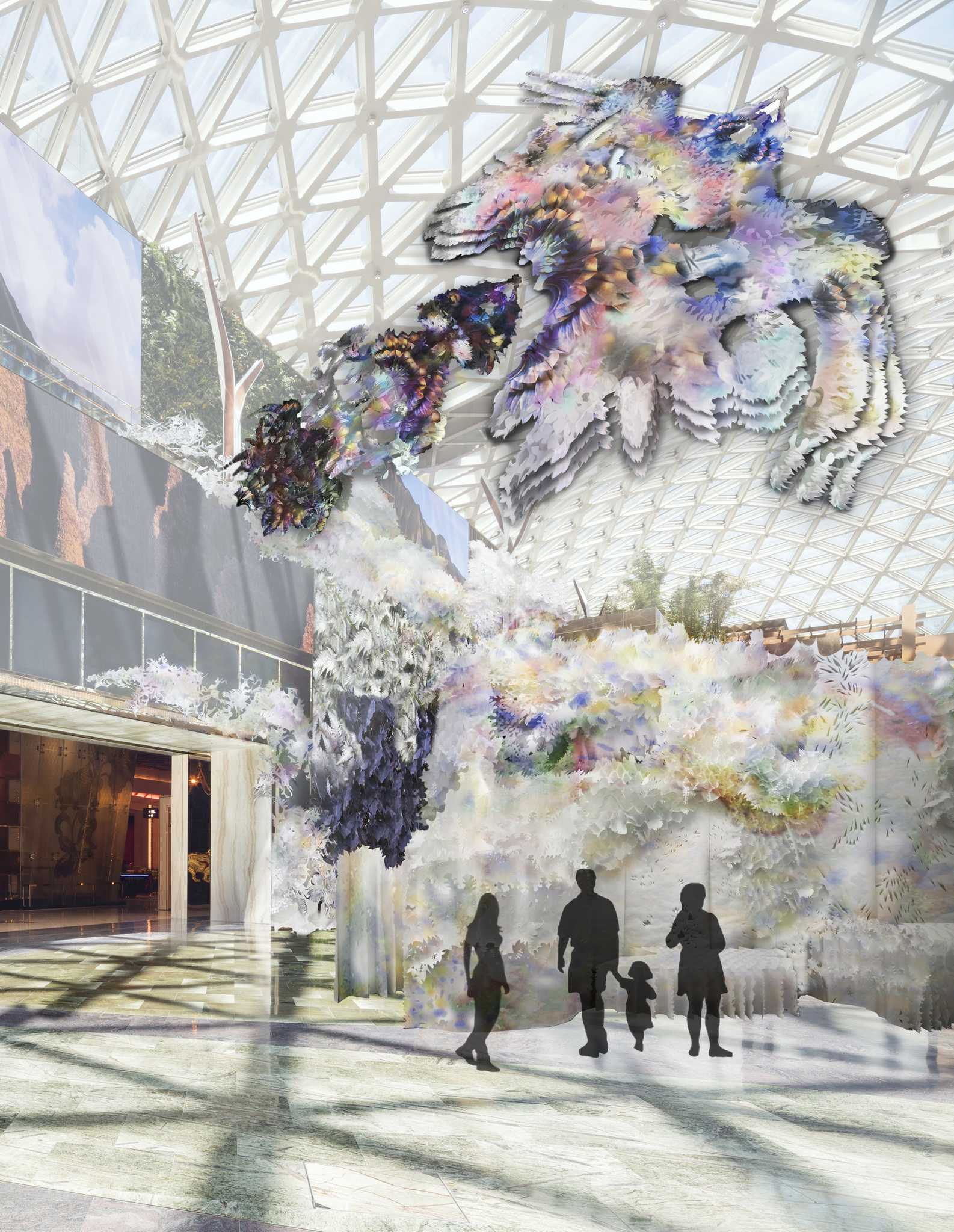 Art Macao-MGM Cotai-A Metamorphosis- No End to End by Jennifer Wen Ma-Macau Lifestyle