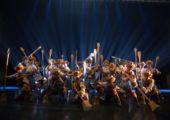 Art Macao Haojiang Moonlight Night Dance Drama Thangka
