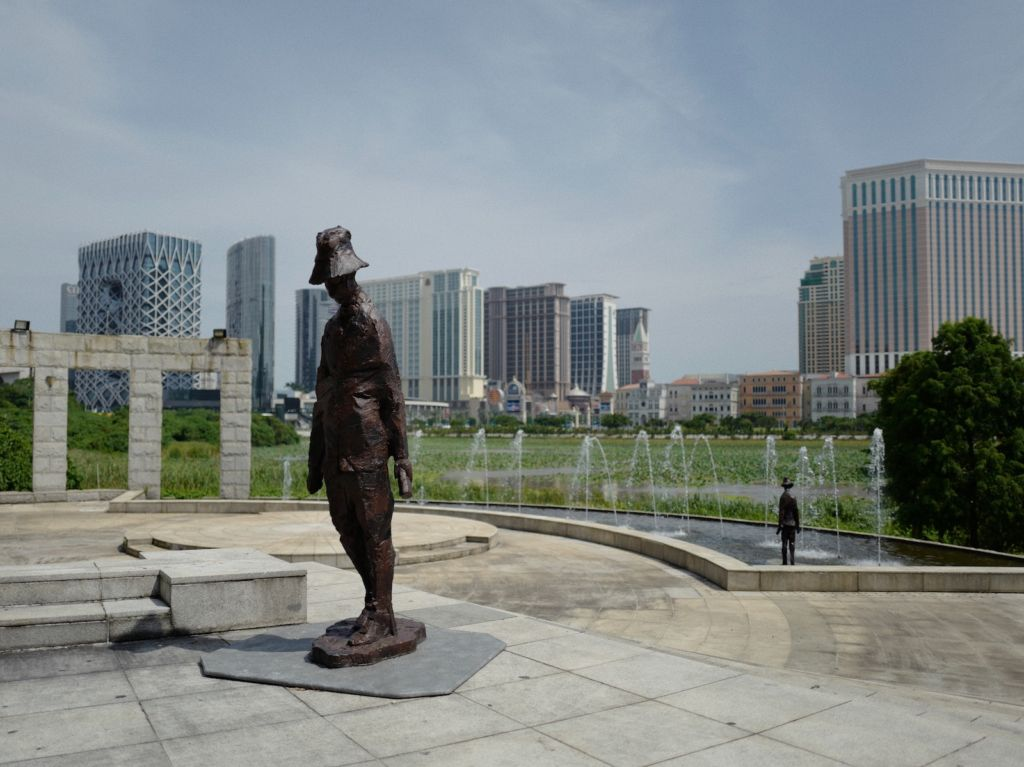 Art Macao Outdoor Art Installations The Wanderer by Wong Ka Long Macau Lifestyle