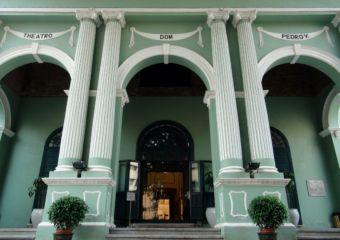 Dom Pedro V Theatre entryway