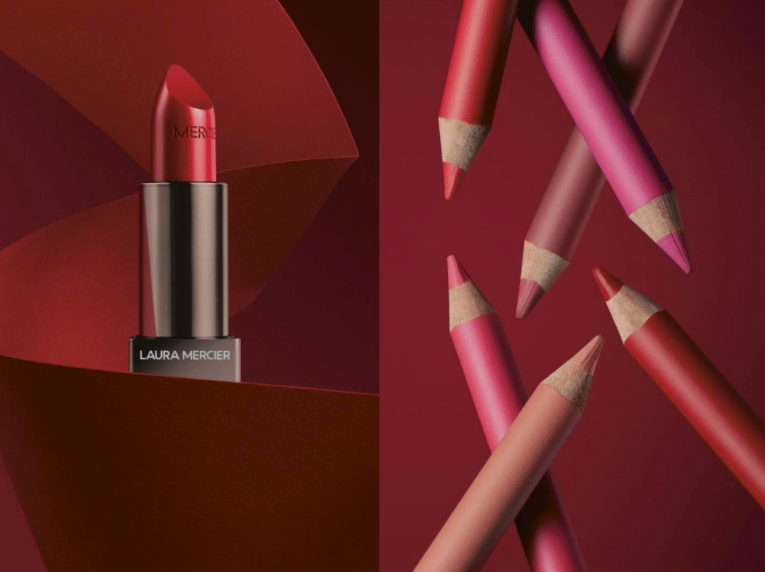 Laura Mercier lipstick and lip liner beauty buys august
