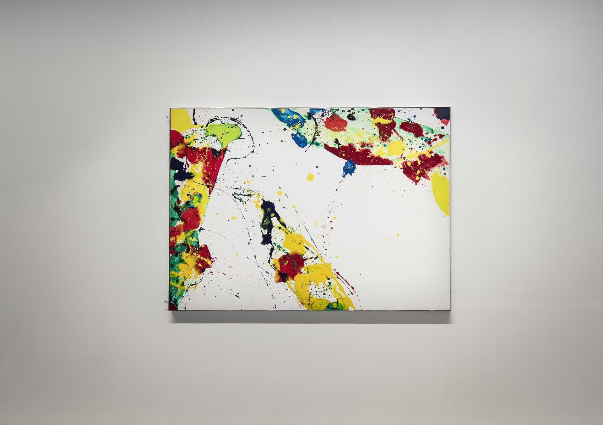 Sam Francis CORAL TRAILS (1986) Art Macao