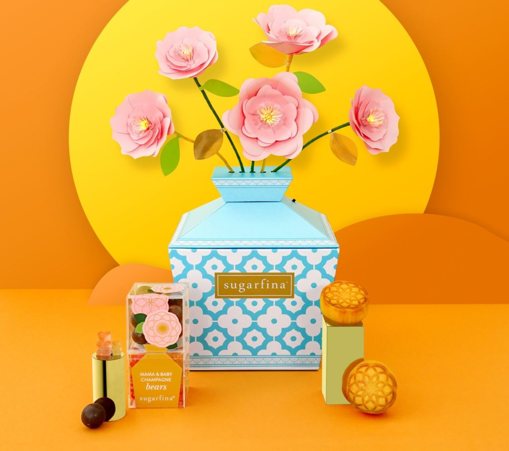 Sugarfina Mid-Autumn Mooncake Candy Bento Box $458
