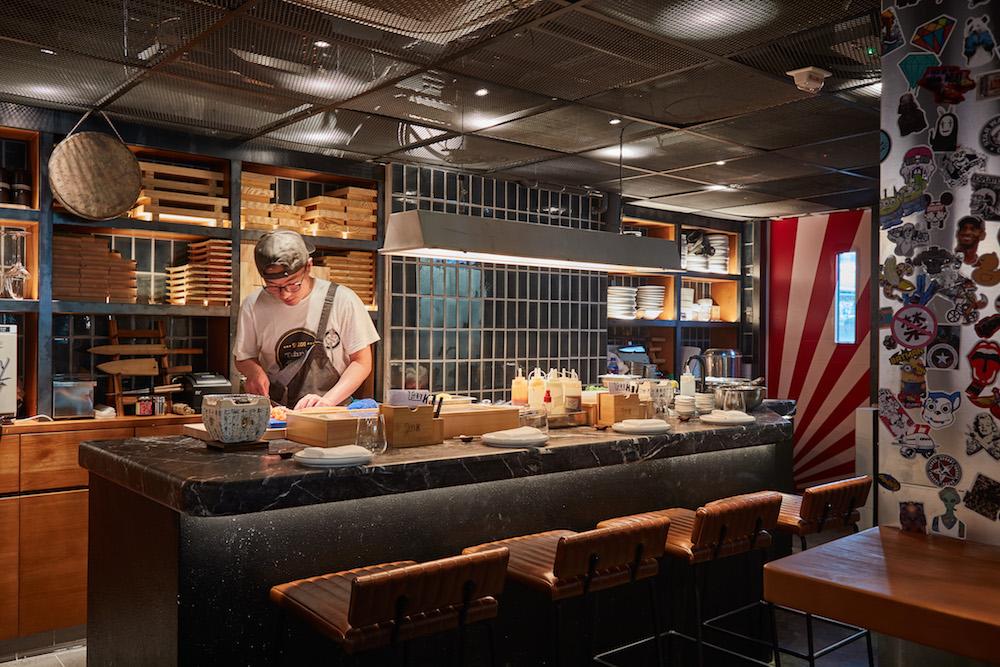 TMK – Interior – Sushi Bar