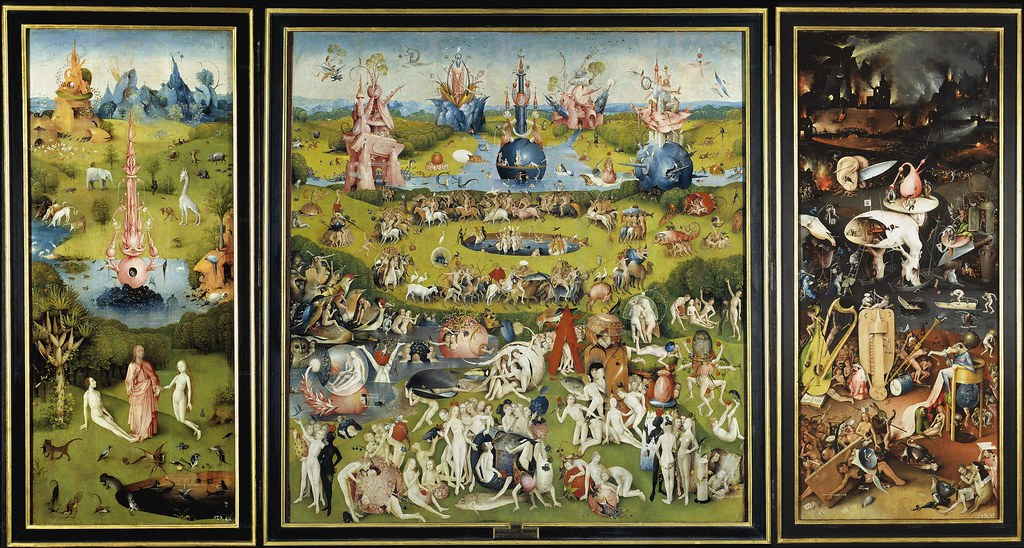 The Garden of Earthly Delights bosch art macao