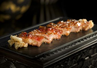 Lai Heen Signature Dishes - Barbecued Pork - Dégustation Menu