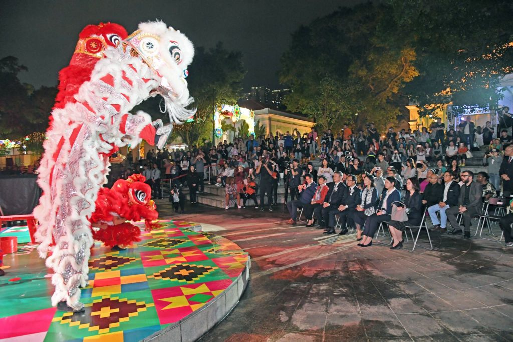 lusofonia lion dance 2018
