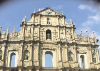 Ruins of St Paul's Macau changes through the decades