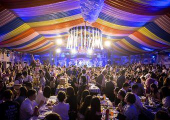 Oktoberfest Macau MGM Cotai 2019 Crowded Space