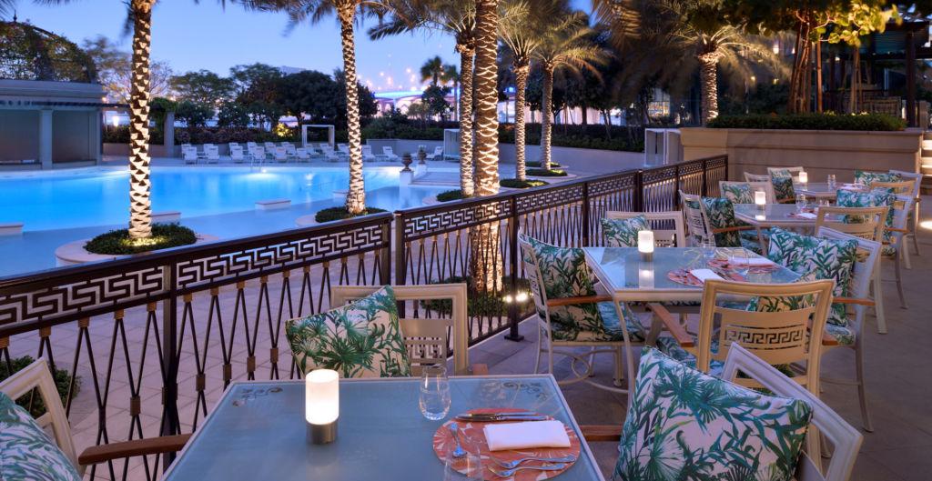 Palazzo Versace Dubai Giardino_Terrace_Night_Shot