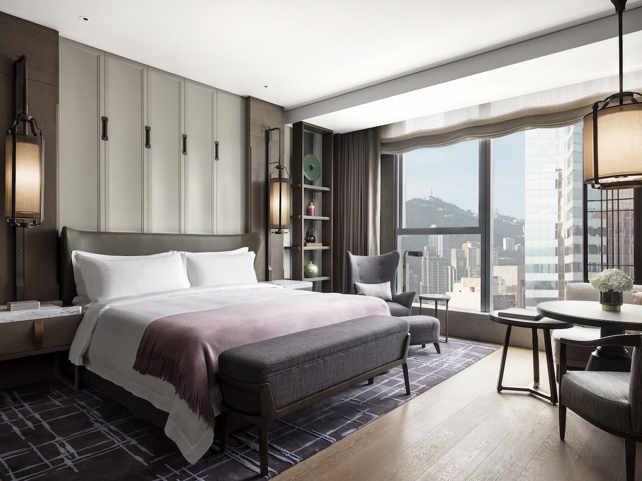 St. Regis Hong Kong, G.Deluxe 03 Day, City&Partial Harbour Views