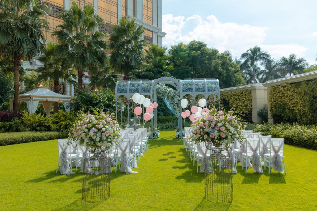 The Ritz-Carlton 5M9A8067 – RC outdoor wedding venue set up (front view)