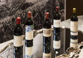 Alain Ducasse January Wine Dinner 1982 Bordeaux