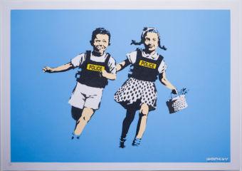 Banksy-Lisbon-POLICE-KIDS